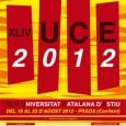 Del 16 al 23 d'agost del 2012 a Prada, 44ena edició de la U.C.E. Programa
