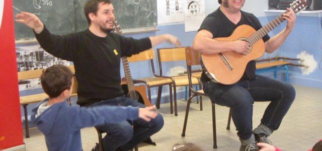Divendres 15 de febrer, la Plataforma per la Llengua va permetre a dos músics d'intervenir a les escoles de Prada. Marc Serrats i Pau Alabajos van actuar i intercanviar amb […]