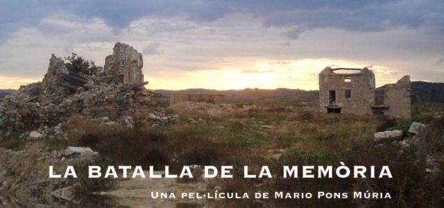 """CINEMA EN CATALÀ: """"La batalla de la memòria"""", del realitzador Mario Pons Múria, serà projectat al cinema """"El Lido"""" de Prada, dimarts 3 de març 2020 a 20h45, en el […]"""