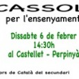 Des del Casal del Conflent, us animem a participar a la manifestació en defensa de l'ensenyament del català a Catalunya Nord que tindrà lloc aquestdissabte 6 de febrera les14h30, plaça […]