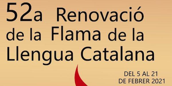 Dimarts 9 de febrer i dimecres 10 de febrer van tenir lloc els primers actes de la 52a Renovació de la Flama de la Llengua Catalana, organitzats pel Casal del […]